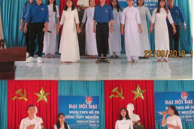 Đoàn trường THPT Nguyễn Tất Thành – M'Drăk tổ chức Đại hội đại biểu Đoàn TNCS Hồ Chí Minh nhiệm kì 2018 -2019
