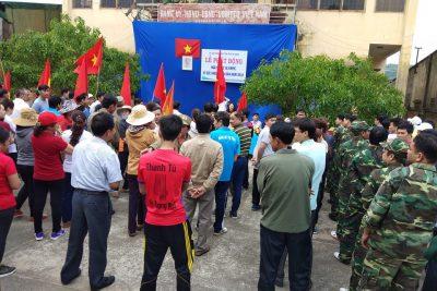 Trường THPT Nguyễn Tất Thành tham gia ngày chạy Olympic vì sức khoẻ toàn dân  M'Drăk năm 2018.