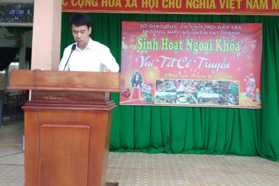 """Tưng bừng ngày hội """"Vui Tết cổ truyền"""" tại trường THPT Nguyễn Tất Thành, huyện M'Drắk"""