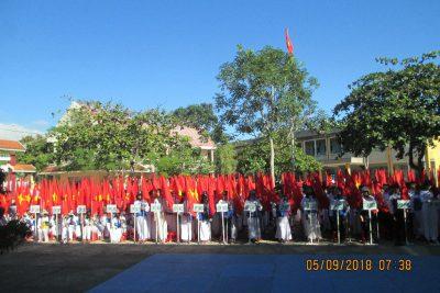 Trường THPT Nguyễn Tất Thành khai giảng năm học 2018-2019