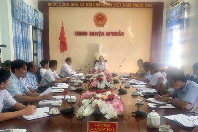 Huyện M'Drắk triển khai công tác chuẩn bị, tổ chức kỳ thi tốt nghiệp THPT năm 2020
